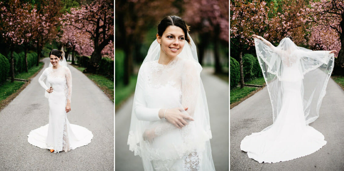 After Wedding Shooting Schlossberg Graz