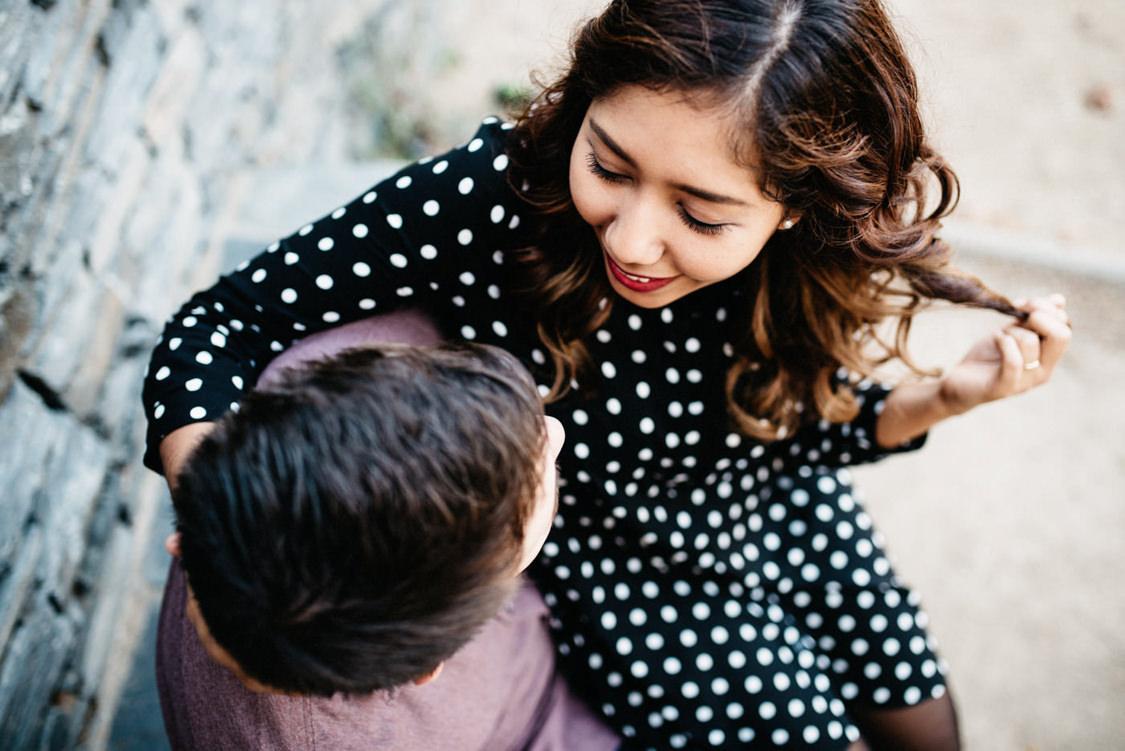 Coupleshoot Barcelona Montjuic Engagement Wedding 009
