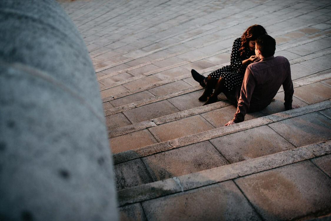 Coupleshoot Barcelona Montjuic Engagement Wedding 011