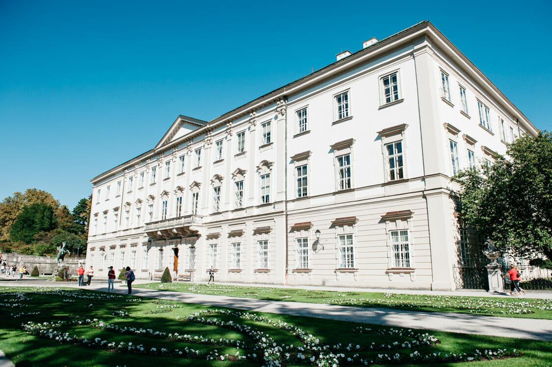Elopement Hochzeit Salzburg Schloss Mirabell Marmorsaal Mirabellgarten 001