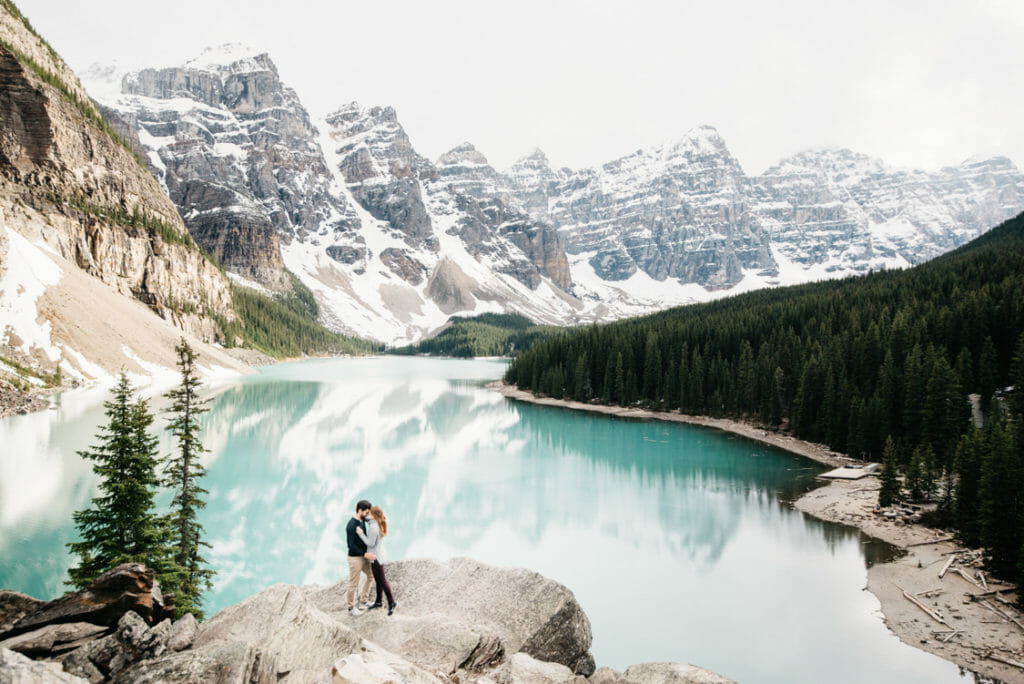 Engagement Session Moraine Lake Canada 001