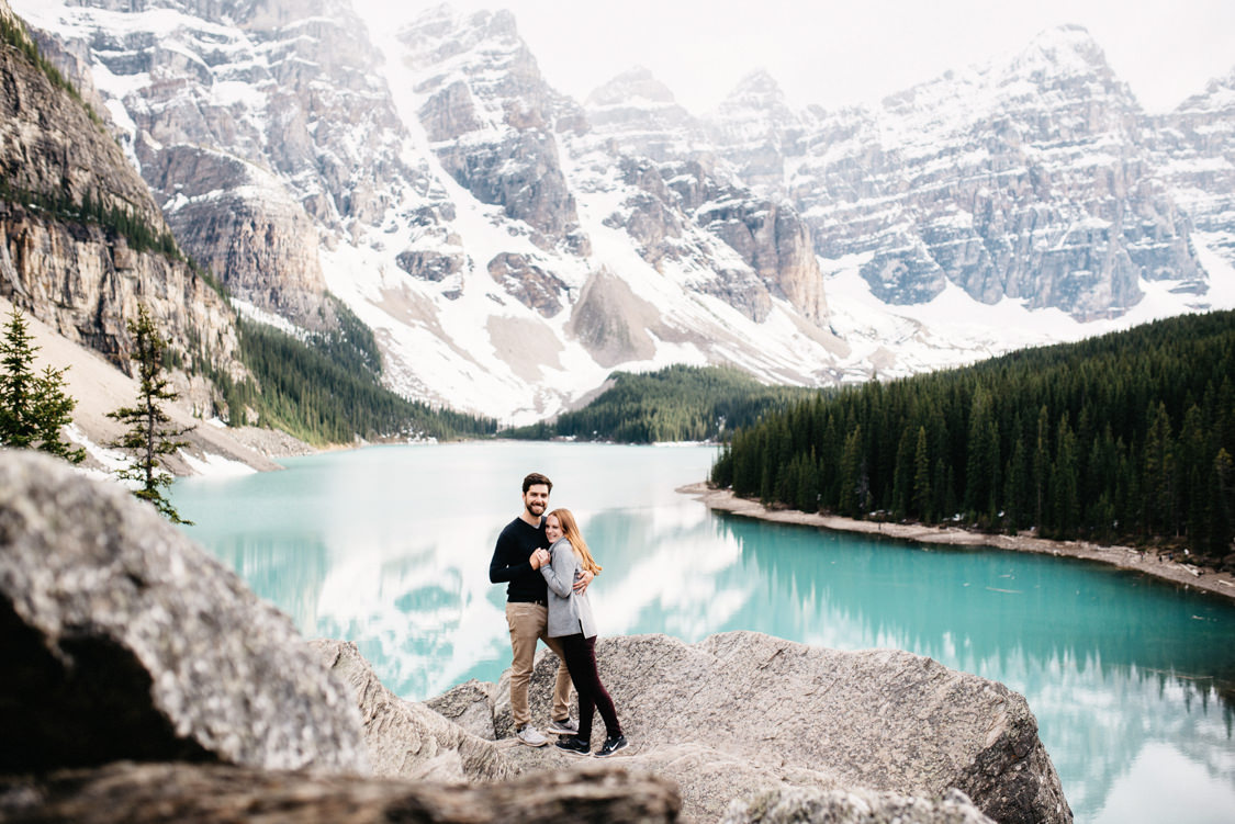 Engagement Session Moraine Lake Canada 004