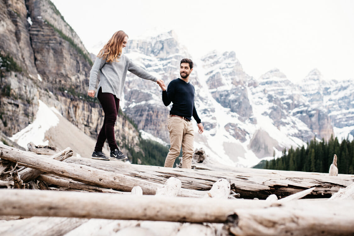 Engagement Session Moraine Lake Canada 008