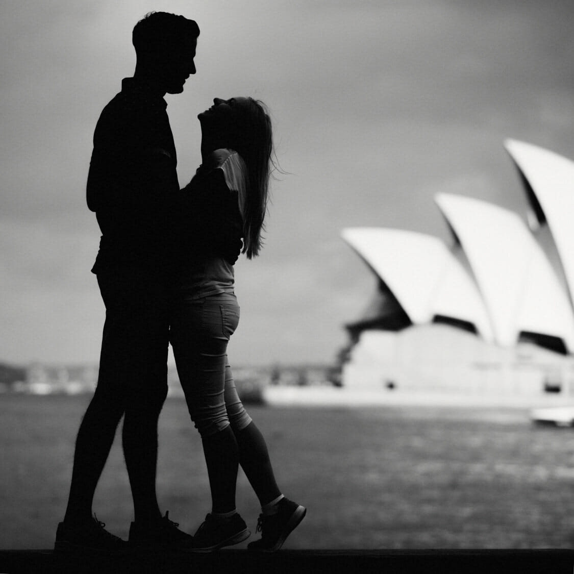Engagement Photos Sydney Harbour Bridge