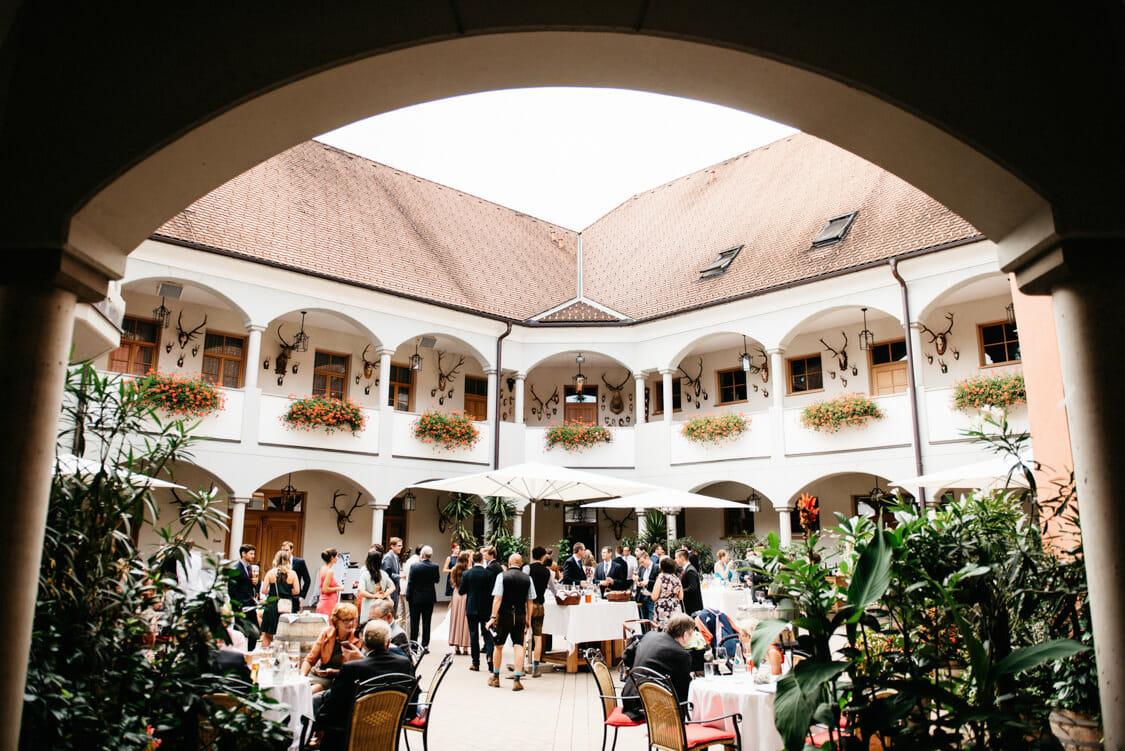 Hochzeit Weinschloss Thaller Pavillon 39