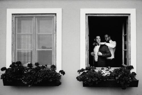 Hochzeitsfotograf Salzburg Hochzeit 2018 Getting Ready Man