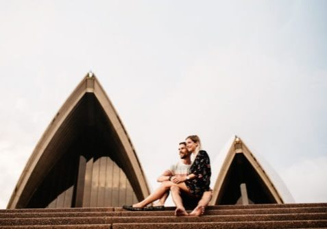 Couple Shoot Sydney Opera House